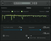 Izotope RX Loudness Control